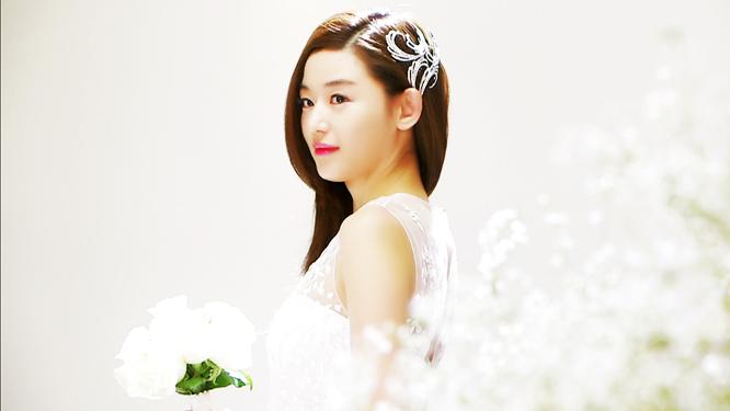 [화제의 명장면] 웨딩드레스 입고 눈부시게 아름다운 천송이
