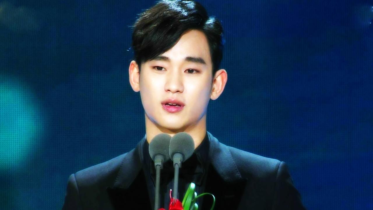 [2014 SBS연기대상] 중편드라마 부문 남자 최우수상 '김수현' 썸네일 이미지
