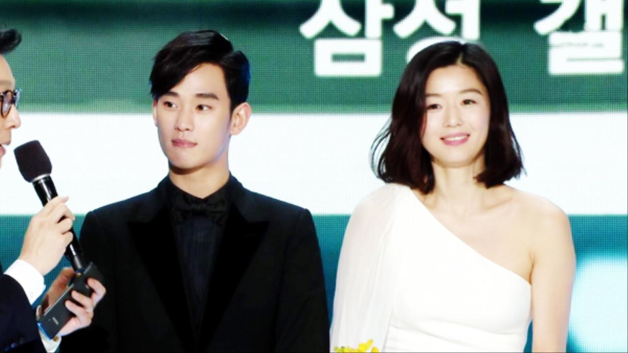 [2014 SBS연기대상] 베스트 커플상 '전지현-김수현' 썸네일 이미지