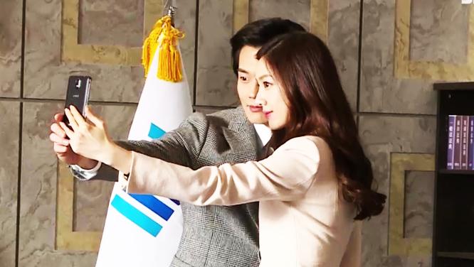 [메이킹] 셀카 삼매경 빠진 한국의 기네스 펠트로 서지혜!