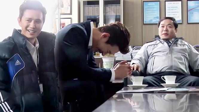 [메이킹] 김민종, 터져버린 웃음보에 울고 있는 나는~♪ (feat. 착한 사람)