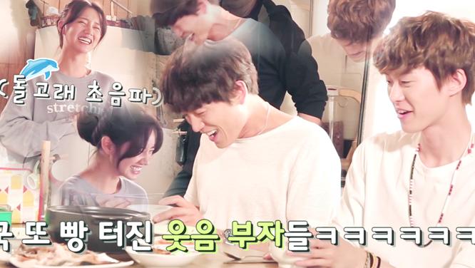 [메이킹] 혜리, 참을 수 없는 웃음! (feat. 돌칼 콤비의 웃음 먹방)