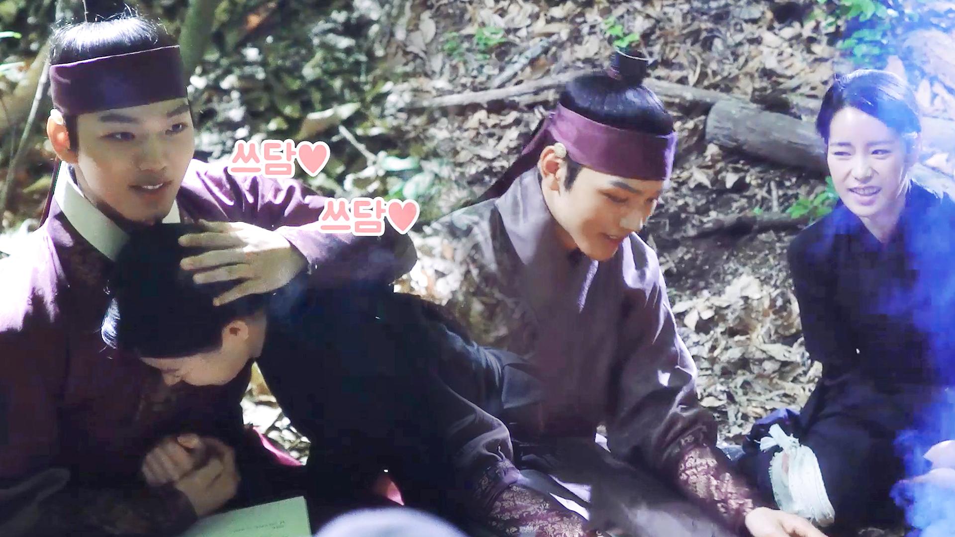 [메이킹] 연담 커플, 숲 속에서 피어오르는 연담 로맨스~♥ (feat.연잉군 외토뤼햐~)