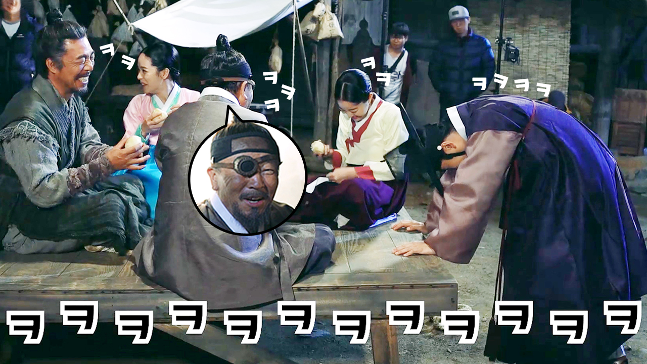 [메이킹] 웃음 폭탄 맞은 대길's 패밀리 (feat. 감자 파편)