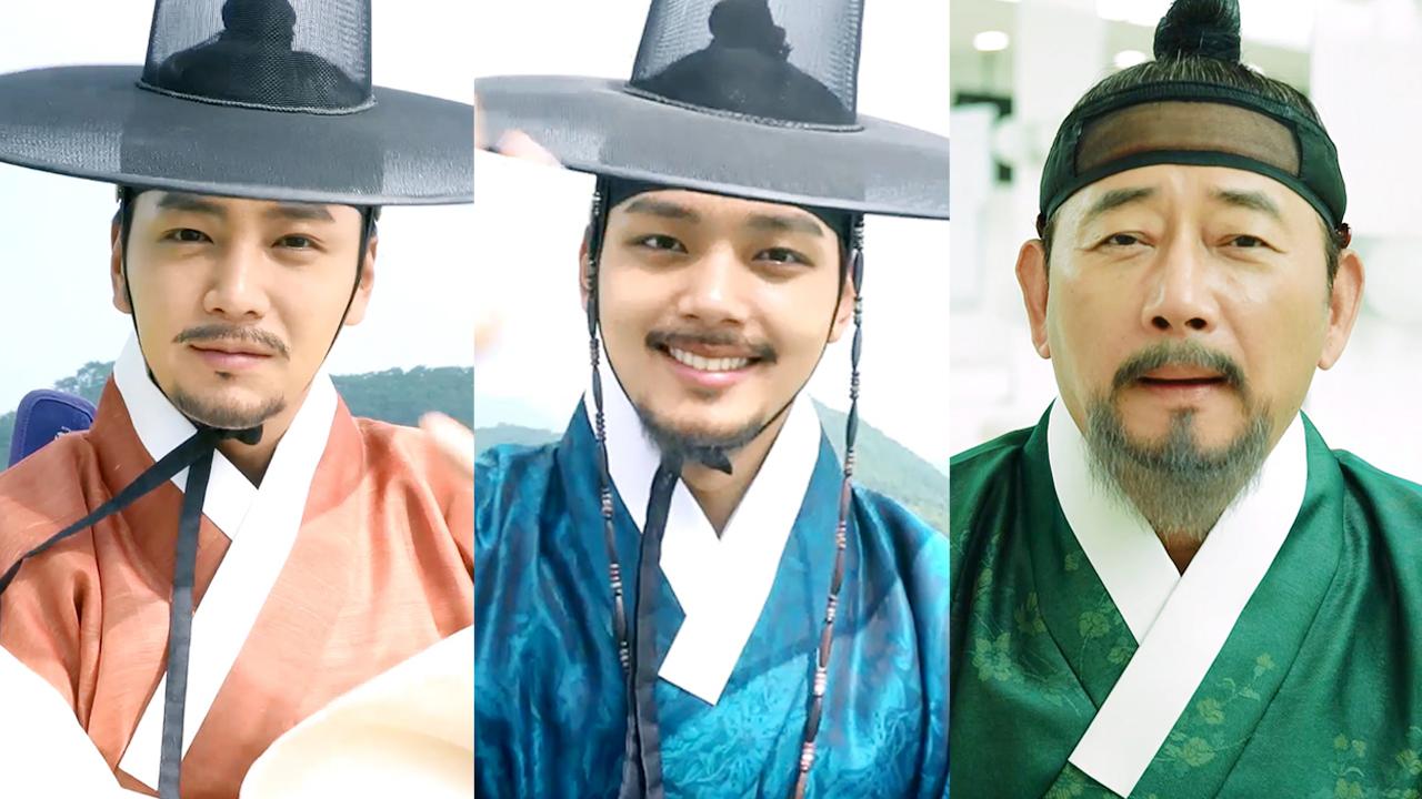 [메이킹] 대길·영조·이인좌, 잊지 못할 세 사람의 마지막 인사ㅠㅠ!