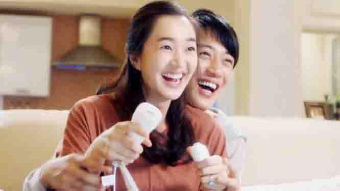 '잉꼬부부' 신혼 생활의 표본! 신혼 깨소금 폭발! 썸네일 이미지