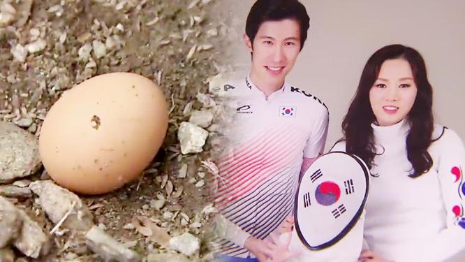 신선한 '달걀'의 힘, 펜싱 남현희 선수 아자!