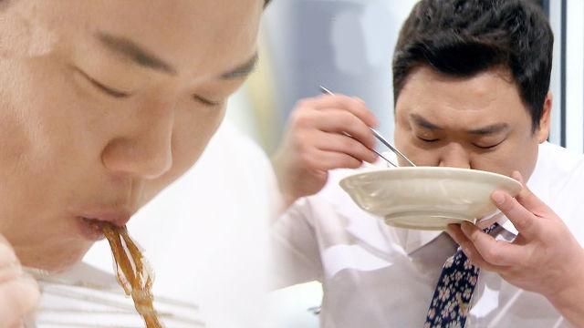 [56회] 김준현, 고급 먹방 기술 가득한 간짜장 시식 '먹방의 정석'