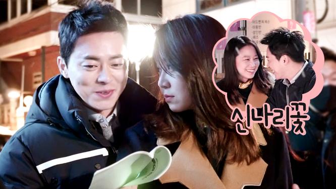 [메이킹] 눈 내리는 촬영장에 신나리꽃이 피었네~ (feat. 픽미범)