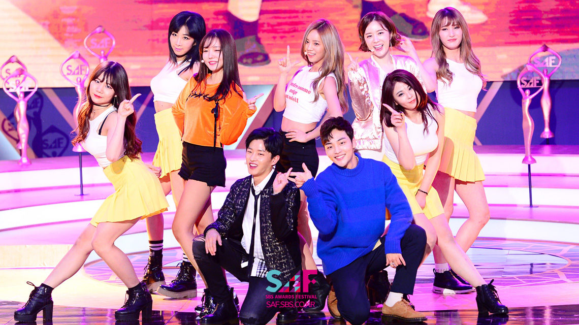 김민재·김민석·민아·혜리·문지인·양진성, 배우들의 색다른 2부 축하무대!