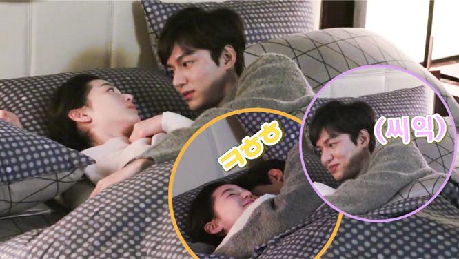 [메이킹] 웃음 터진 준청 커플 보고 있으니 '개좋아' (feat. 감독님)