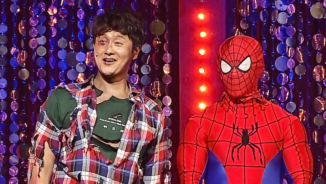 '개콘' 출신 개그맨 김원효 '웃찾사-레전드매치' 2회전 출격!
