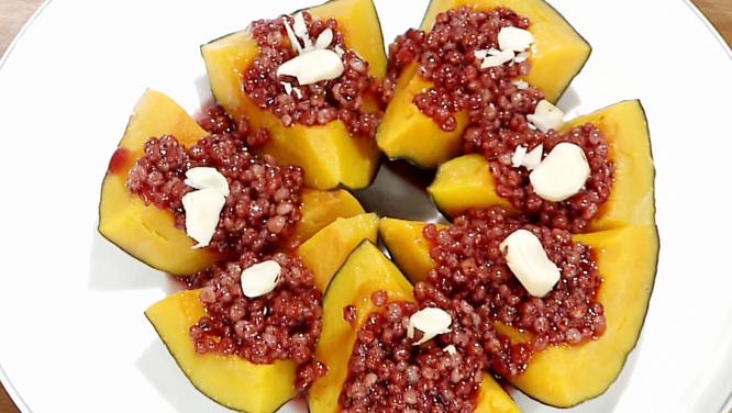 [내 몸을 위해 꼭 먹어야 할 건강 요리] 브라질너트 단호박찜 썸네일 이미지