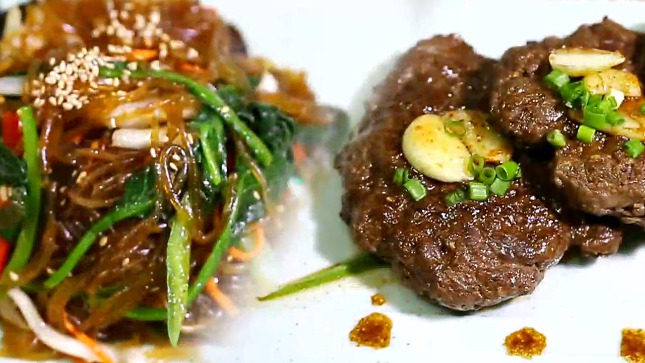 [초 간단 명절 요리] 잡채&한우 떡갈비 썸네일 이미지