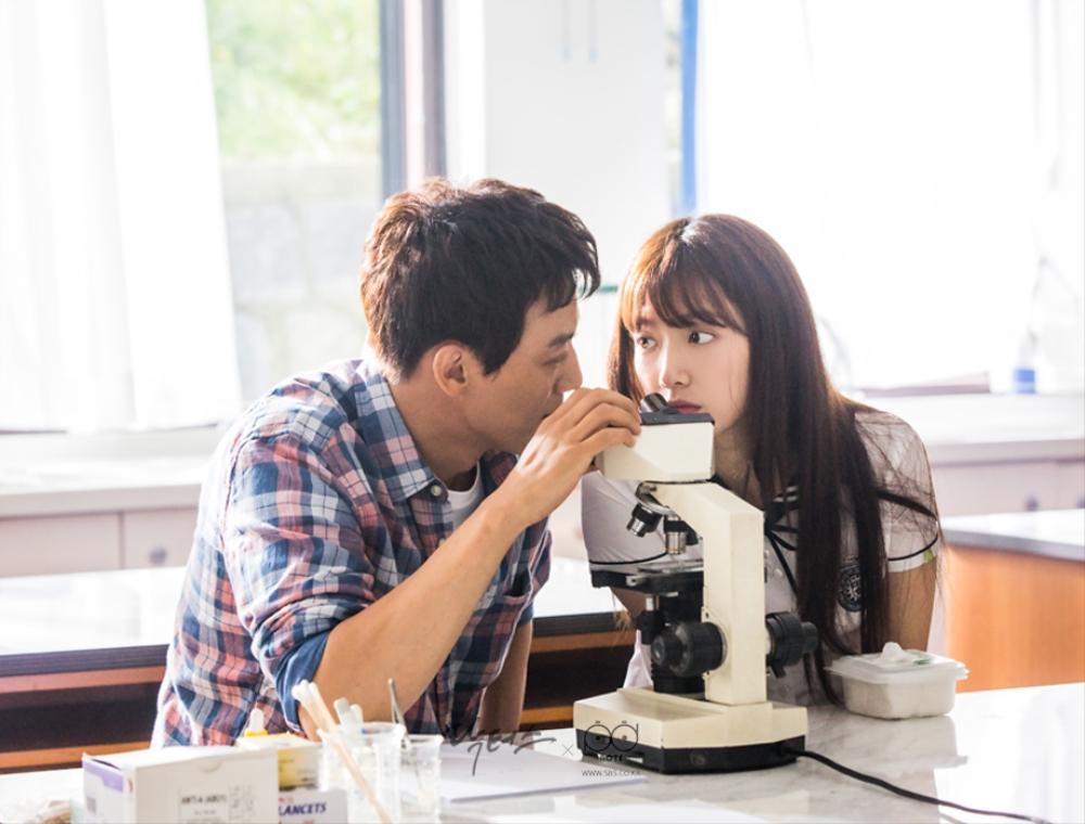 닥터스 포토스케치 김래원과 박신혜의 초 밀착 눈 맞춤