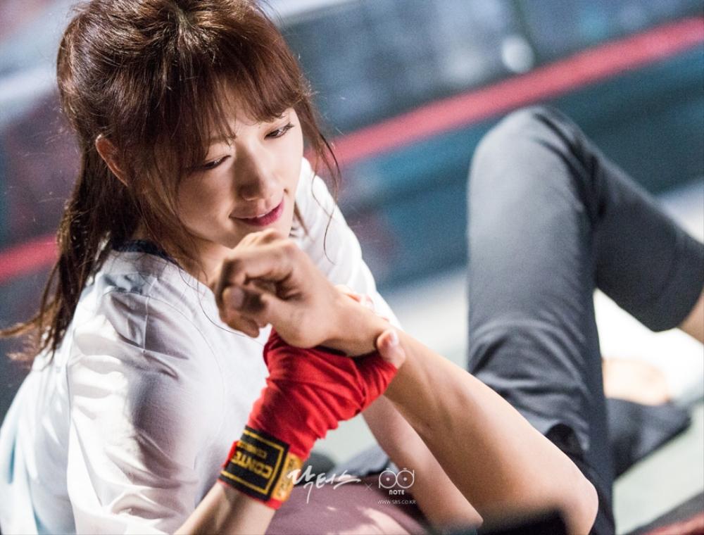 닥터스케치 7 링 위에서 김래원을 제압해버리는 앙칼진 표정의 박신혜