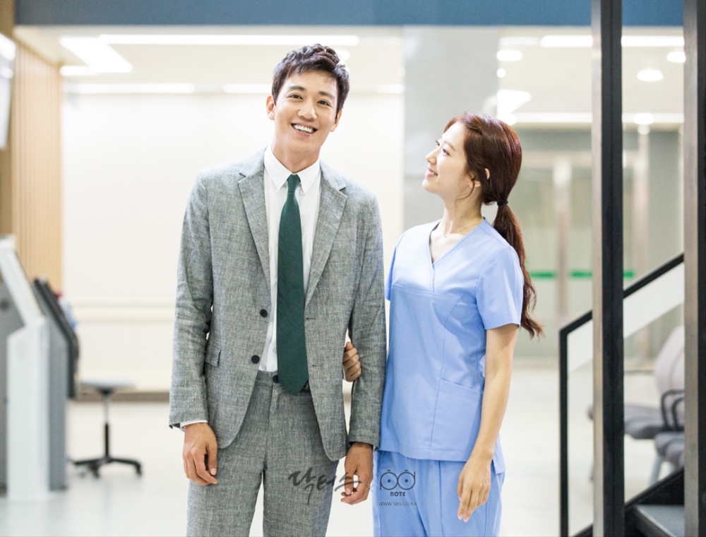 Doctors picture sketched a picture jjikja 9 Park Shin Hye and Kim Rae-won by a gracious, Park Shin Hye was born as two-shot