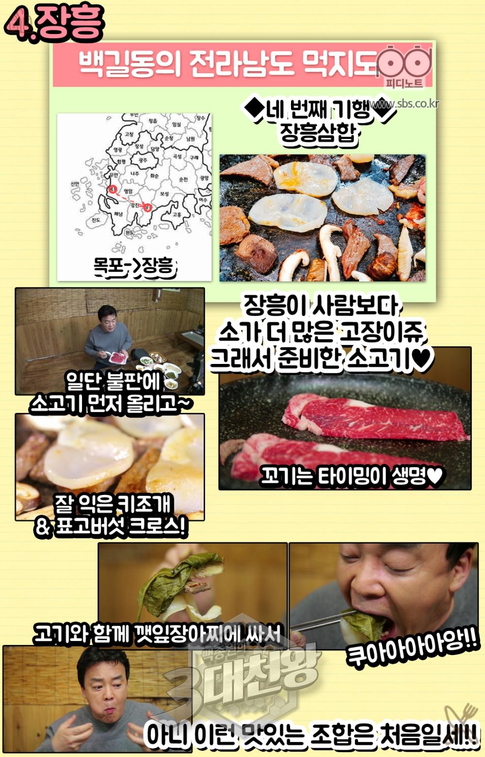 네번째기행장흥삼합장흥이사람보다소가더많은고장이쥬그래서준비한소고기.꼬기는타이밍이생명잘익은캐조개표고버섯크로스.쿠와아앙아니이런맛있는조합은처음일세