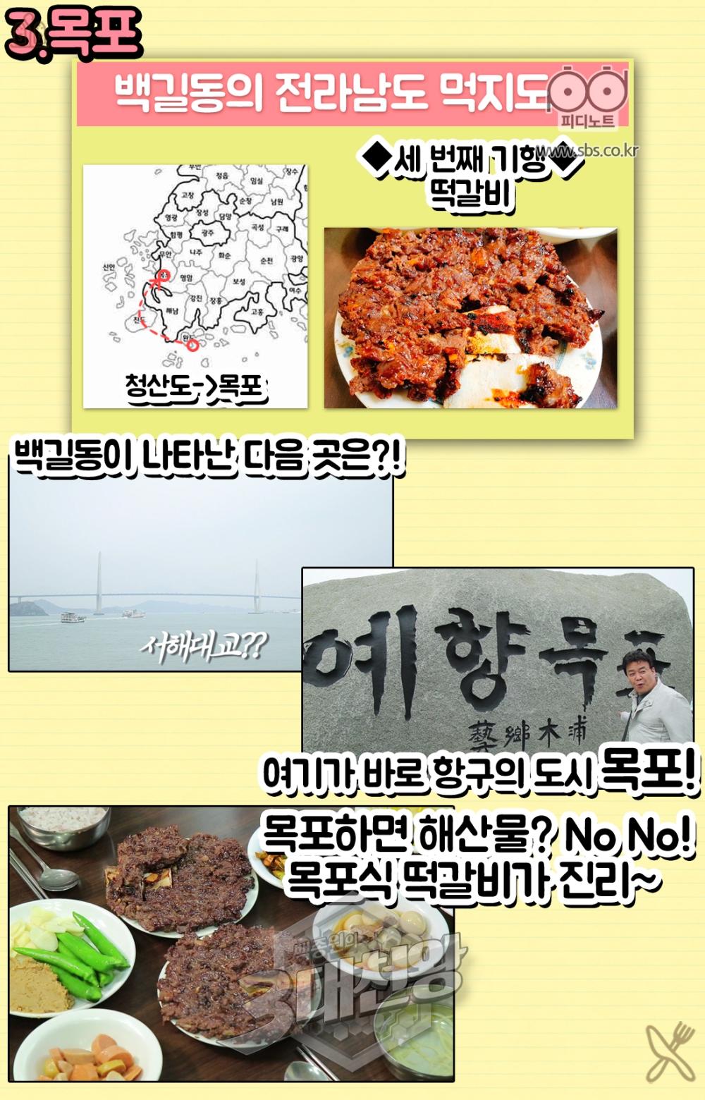 세번째목포항구의도시목포해산물노노목포식떡갈비가진리