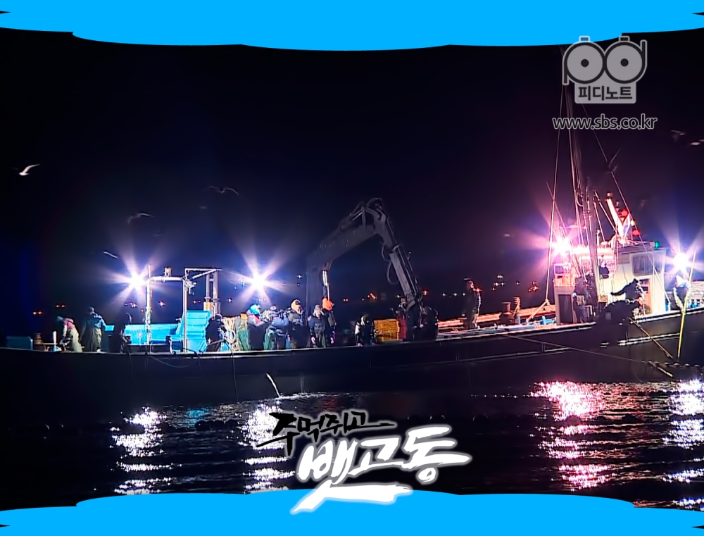 어업 현장 이미지사진