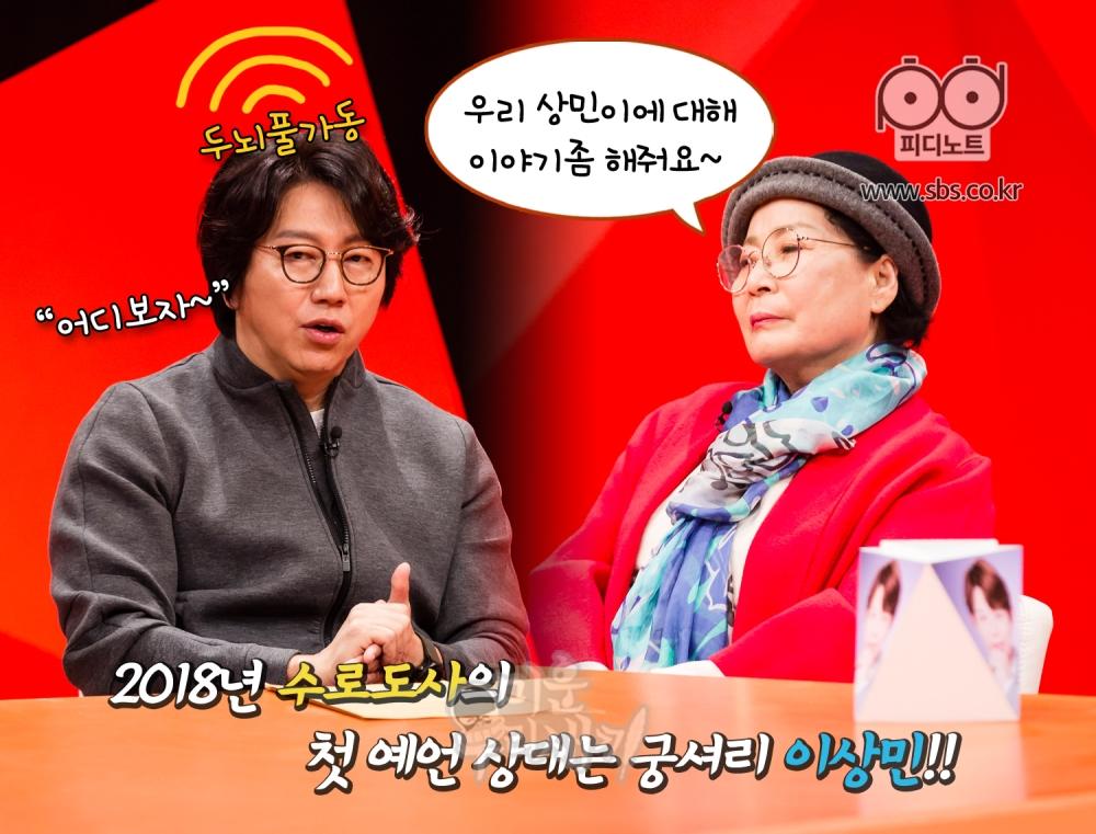 김수로, 이상민 어머니 이미지