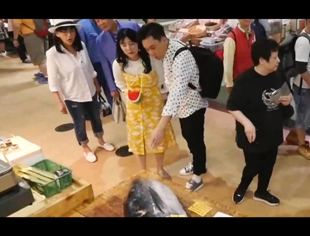 일본인에게 일본 관광 시켜주는 한국인