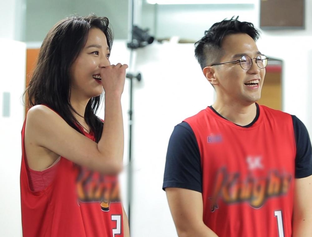 #70 <한고은♥신영수, 부부 동반 농구 시투>