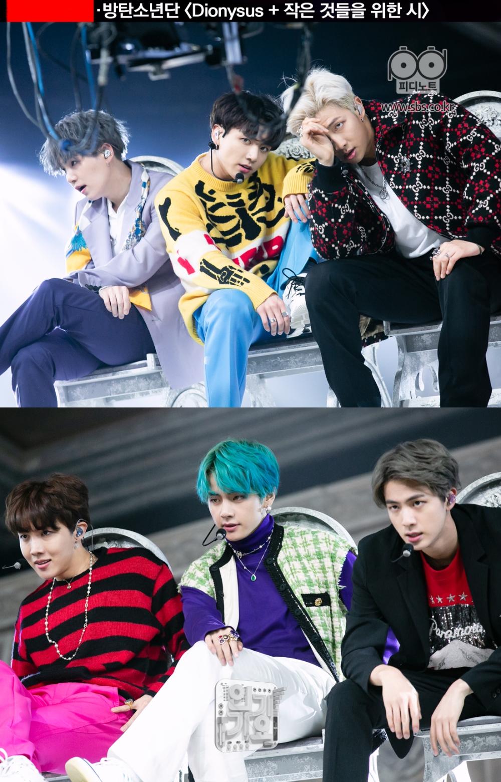 방탄소년단의 컴백 무대가 있다.