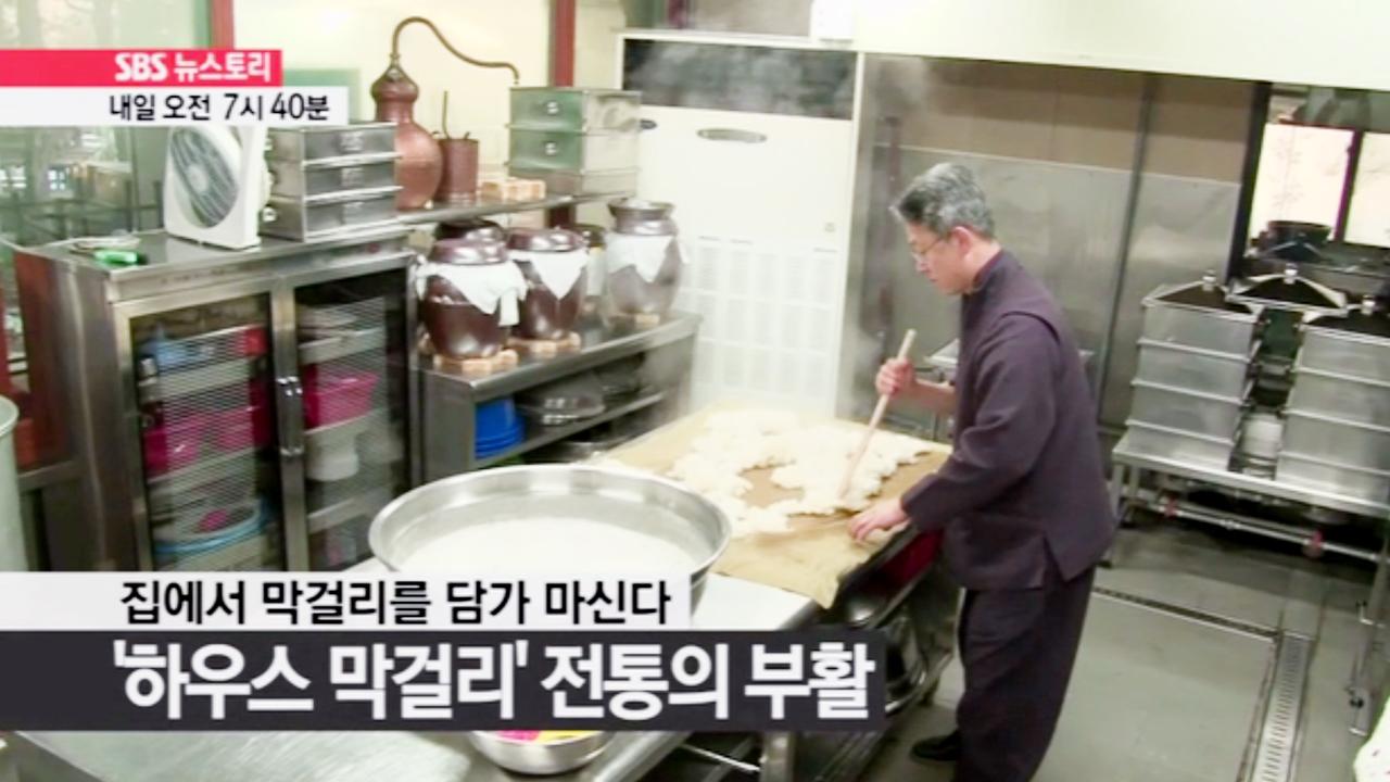 SBS 뉴스토리 막걸리 빚는 사람들 - 도심... 119회 썸네일 이미지