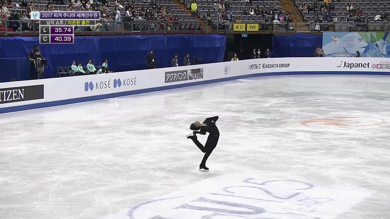 ISU 국제빙상대회 피겨 주니어 세계선수권 남자... 57회 썸네일 이미지