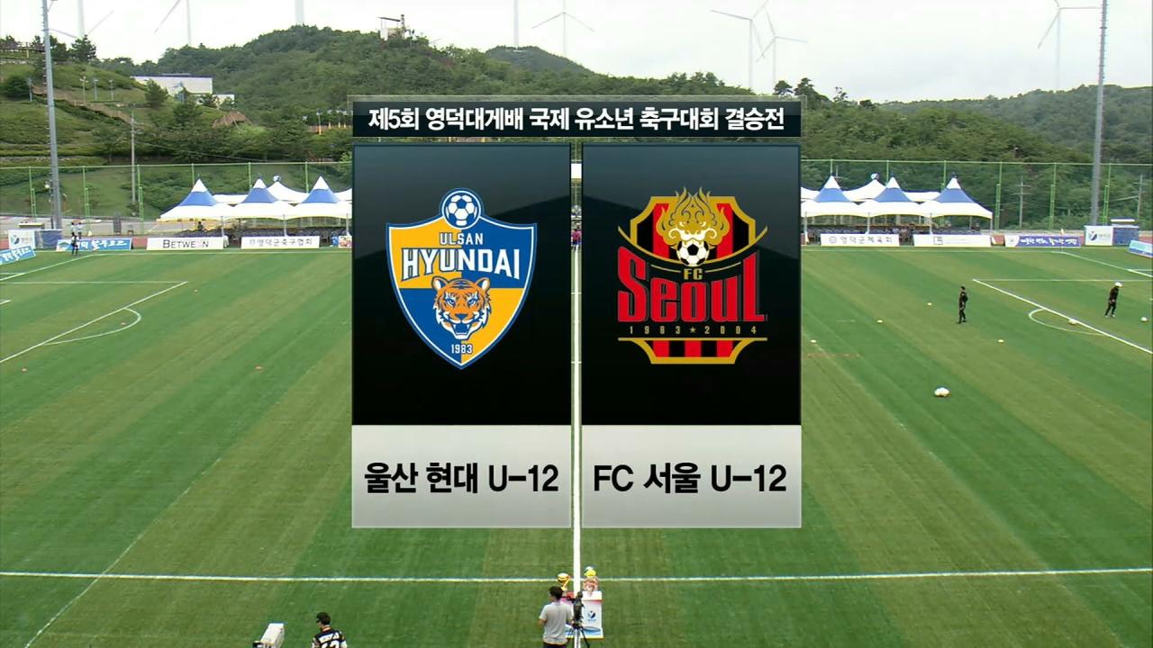 SBS스포츠 축구 영덕대게배 국제유소년축구대회 13회 썸네일 이미지