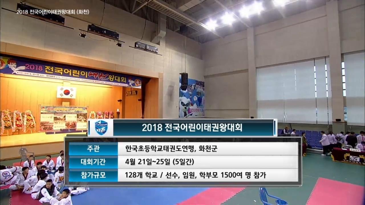 SBS스포츠 종합 ... 2018 전국 어린이 태권왕... 78회 썸네일 이미지
