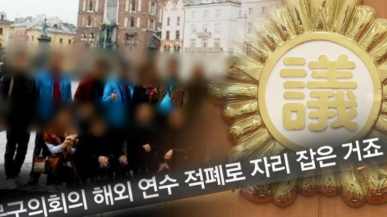 SBS 뉴스토리 '외유성' 해외 출장… 의원... 181회 썸네일 이미지