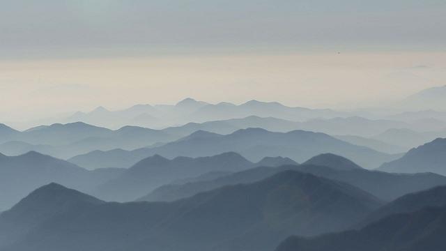 지리산 산맥 안개 (SBS스페셜)