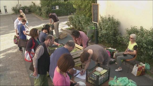 프랑스 유기농 직거래 장터 (일요특선 다큐멘터리)