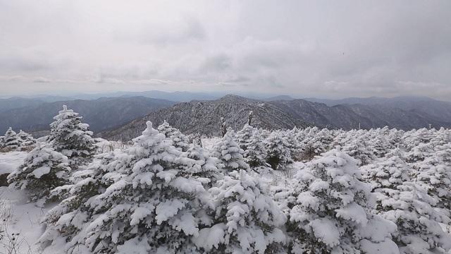 겨울 지리산 구름 (SBS스페셜)