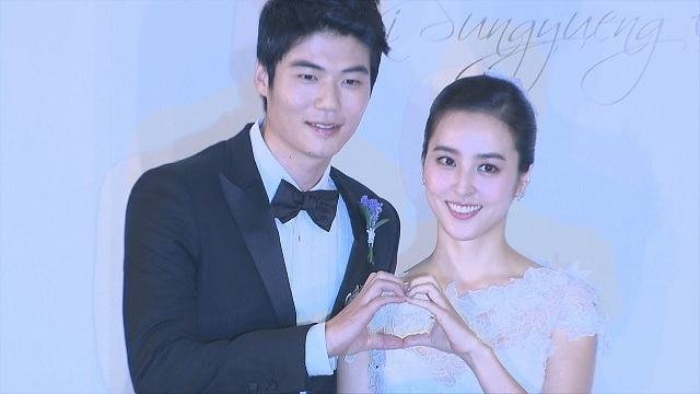 기성용, 한혜진 결혼 기자회견