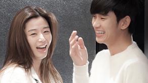 별에서 온 그대 김수현-전지현 커플 이미지