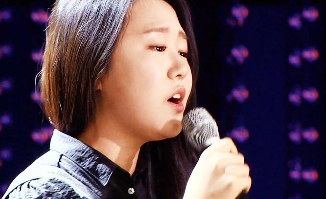 K팝스타5 김채란 소름 돋는 고음 뽐내며 부른 노래 혼자만의 사랑
