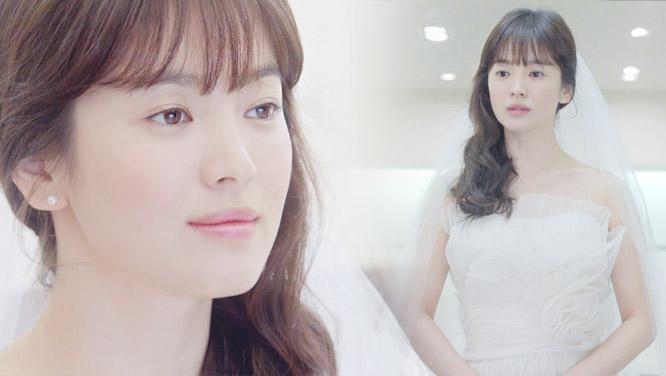 [웨딩혜교] 송혜교, 하늘에서 천사가? 황홀 웨딩드레스 자태!
