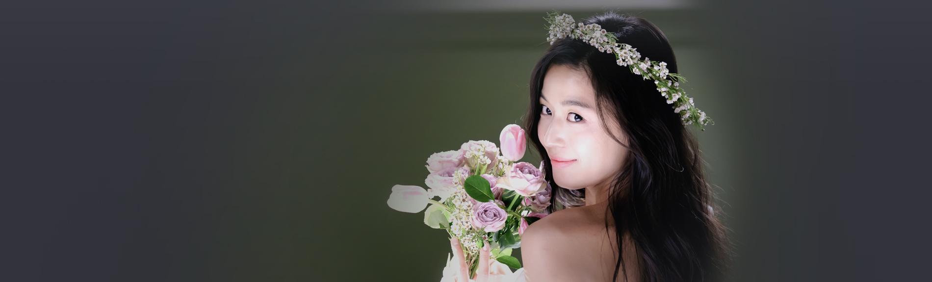 웨딩의 계절 '봄' 아름다운 5월의 신부