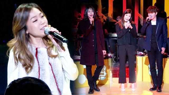 박정현-노을-린, 천상의 하모니… 객석 '눈물'