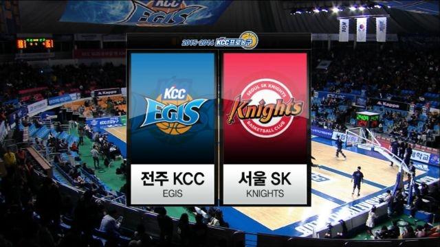 전주 KCC vs 서울 SK 하이라이트