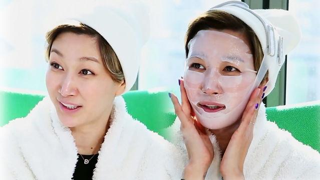 셀프 뷰티의 달인! '변정수'의 동안 시크릿!