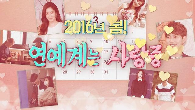 2016년 연예계 사랑꾼들의 연애 '신 풍속도' 썸네일 이미지