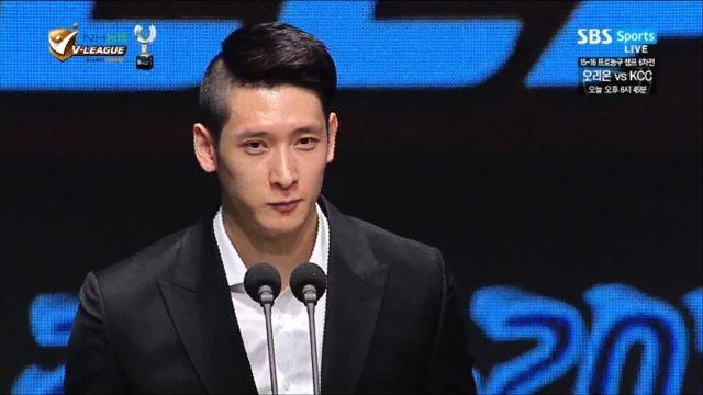 '정규리그 우승팀의 주장' MVP 문성민