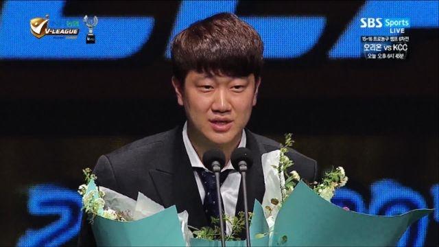 '생애 한 번뿐인 상' 나경복·강소휘 신인상 수상