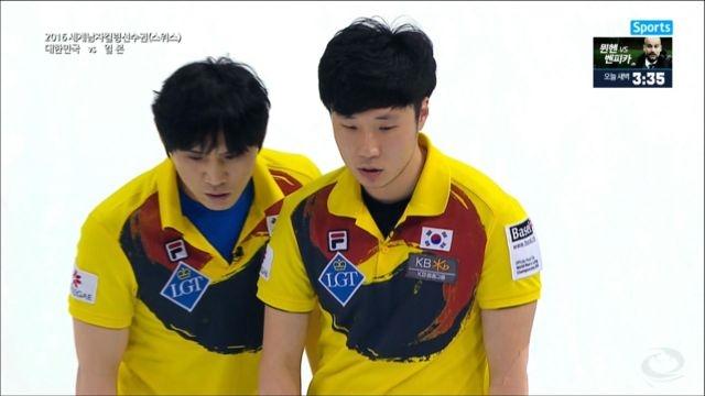 남자 컬링 대표팀, 일본에 3-6패 썸네일 이미지