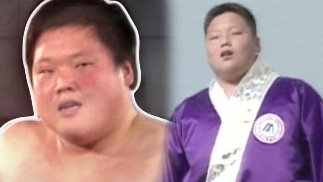 백두장사 고 박영배의 고등학생 시절 생기 넘치는 외침