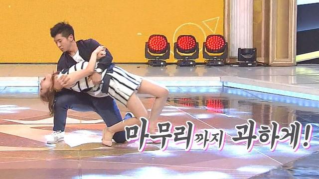 장영란·브라이언 '웃음바다' 만드는 끈적한 '머리끄덩이 댄스'